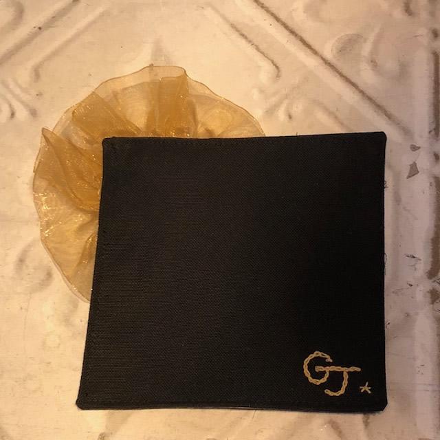 画像1: GJコースター(ゴールド) (1)