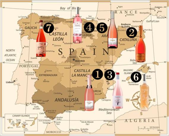 スペインロゼワインに出逢う
